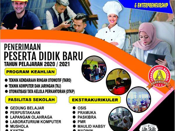 Pendaftaran Siswa Baru Tahun 2020/2021