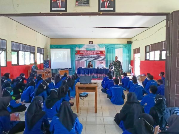 Sosialisasi Kebangsaaan di SMK HB 2021